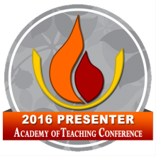 2016 Academy of Teaching Conference Presenter